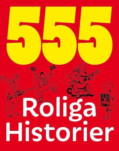 bokomslag 555 roliga historier