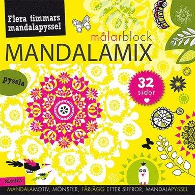 bokomslag Mandalamix : målarblock (gul)