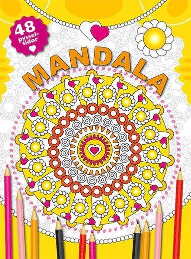 bokomslag Mandala (gul)