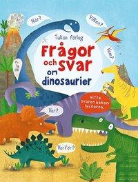 bokomslag Frågor och svar om dinosaurier
