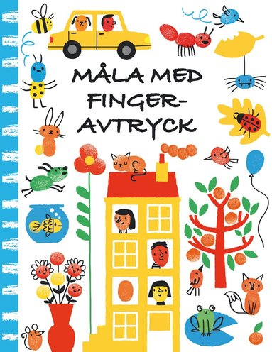 bokomslag Måla med fingeravtryck