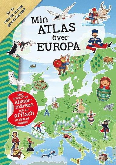 bokomslag Min atlas över Europa