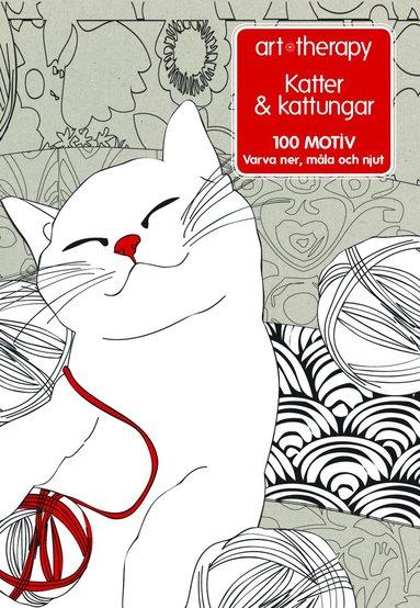 bokomslag Katter & kattungar : 100 motiv - varva ner, måla och njut