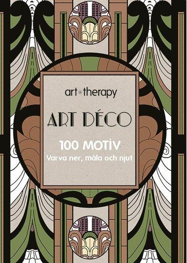 bokomslag Art Déco : 100 motiv - varva ner, måla och njut