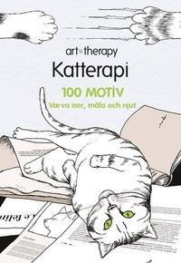 Katterapi : 100 motiv - varva ner, måla och njut