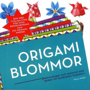 bokomslag Origami Blommor