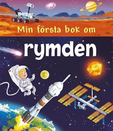 bokomslag Min första bok om rymden