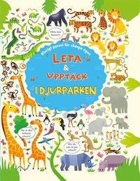 bokomslag Leta & upptäck i djurparken