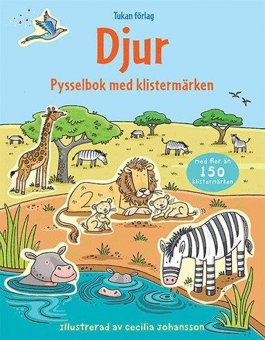 bokomslag Djur : pysselbok med klistermärken