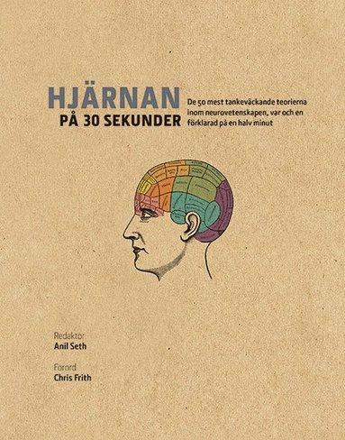 bokomslag Hjärnan på 30 sekunder : de 50 mest tankeväckande teorierna inom neurovetenskapen, var och en förklarad på en halv minut
