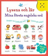 bokomslag Lyssna & lär : mina första engelska ord