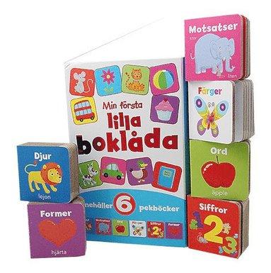 bokomslag Min första lilla boklåda (6 pekböcker i en box)