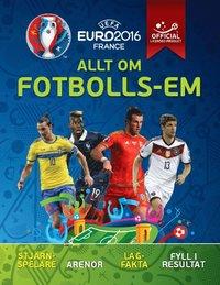 bokomslag Allt om fotbolls-EM