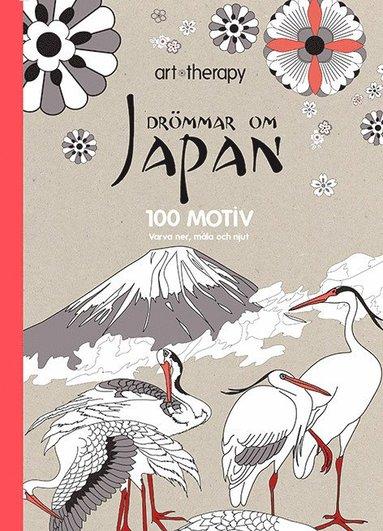 bokomslag Drömmar om Japan : 100 motiv - varva ner, måla och njut