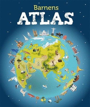 bokomslag Barnens atlas