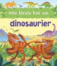 bokomslag Min första bok om dinosaurier