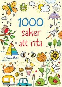 bokomslag 1000 saker att rita