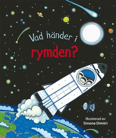 bokomslag Vad händer i rymden?