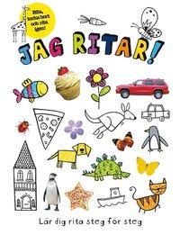 bokomslag Jag ritar! : lär dig rita steg för steg