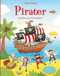 Pirater. Pysselbok med klistermärken