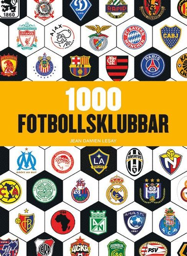 bokomslag 1000 fotbollsklubbar