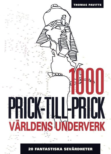 bokomslag 1000 Prick-till-prick: Världens underverk