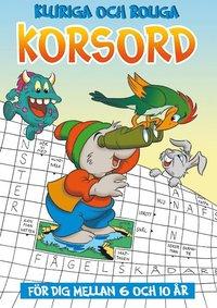 bokomslag Kluriga och roliga korsord