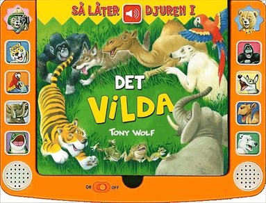 bokomslag Så låter djuren i det vilda