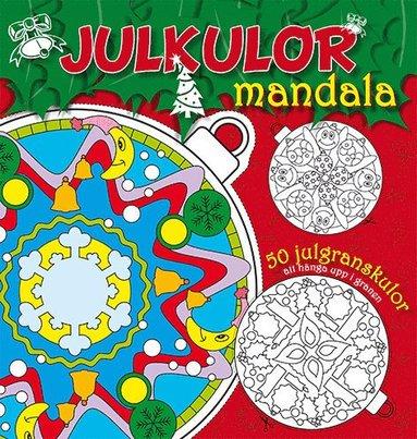 bokomslag Julkulor - mandala (röd)