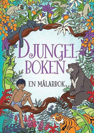 bokomslag Djungelboken : en målarbok