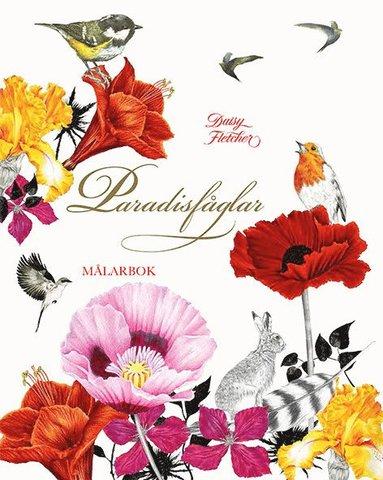 bokomslag Paradisfåglar : målarbok