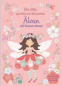 bokomslag Min lilla pysselbok med klistermärken : Älvan och hennes vänner