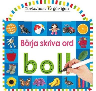 bokomslag Torka bort & gör igen : börja skriva ord