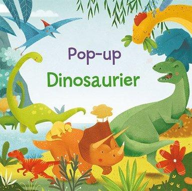 bokomslag Pop-up Dinosaurier