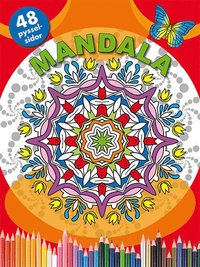 bokomslag Mandala (röd)