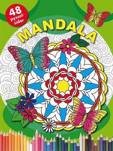 bokomslag Mandala (grön)