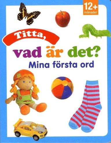 bokomslag Titta, vad är det? Mina första ord