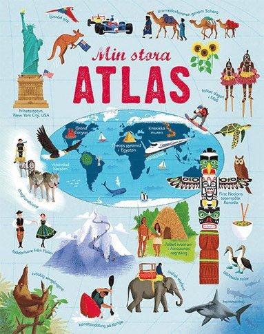 bokomslag Min stora atlas