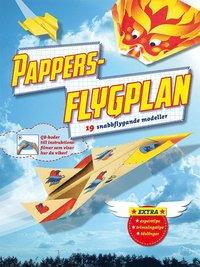 bokomslag Pappersflygplan : 19 vikbeskrivningar och modellark