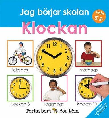 bokomslag Jag börjar skolan : klockan