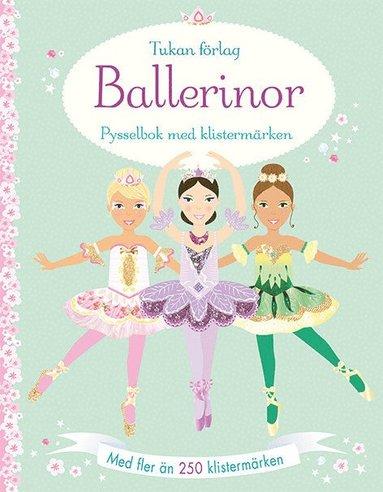 bokomslag Ballerinor : pysselbok med klistermärken
