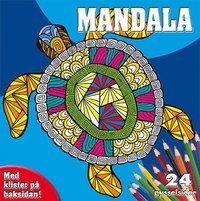 bokomslag Mandala målarblock (sköldpadda)