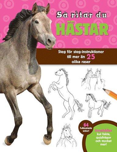 bokomslag Så ritar du hästar