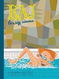 bokomslag Kaj lär sig simma (litet format)
