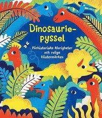 bokomslag Dinosauriepyssel : förhistoriska klurigheter och roliga klistermärken