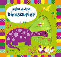 bokomslag Peka & dra. Dinosaurier