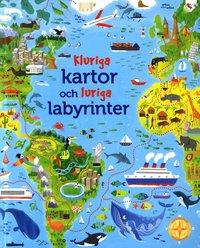 bokomslag Kluriga kartor och luriga labyrinter