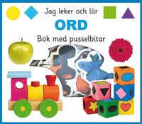 bokomslag Jag leker och lär : ord, bok med pusselbitar