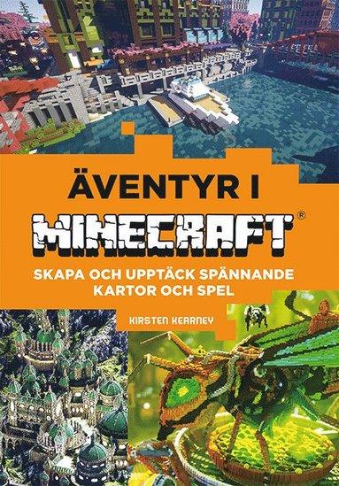 bokomslag Bygg egna spel och världar: Äventyr i Minecraft