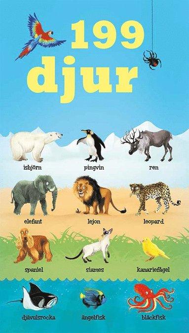 bokomslag 199 djur